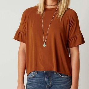 Gimmicks Ruffle Sleeve Top
